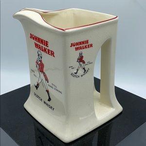 Johnnie Walker pitcher